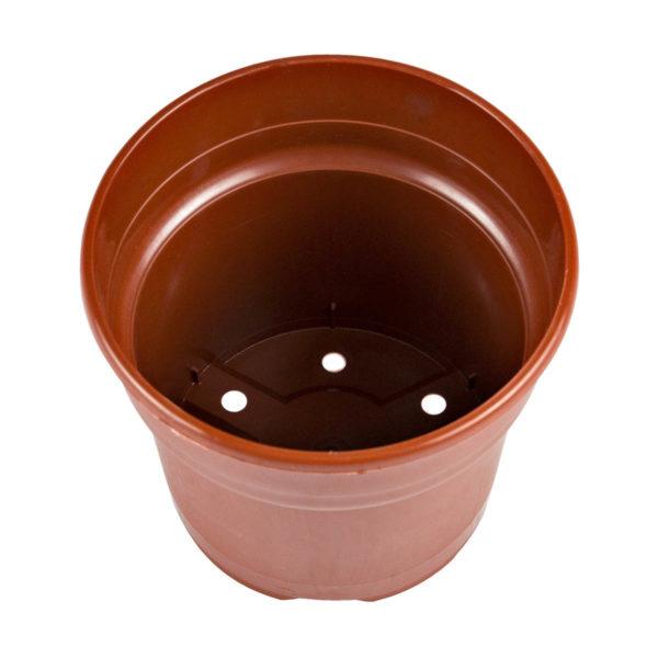 Flower Pot 2.5lt Maroon