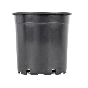 Flower Pot 4lt (Wide) Black