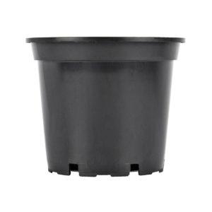 Flower Pot 3lt (Wide) Black