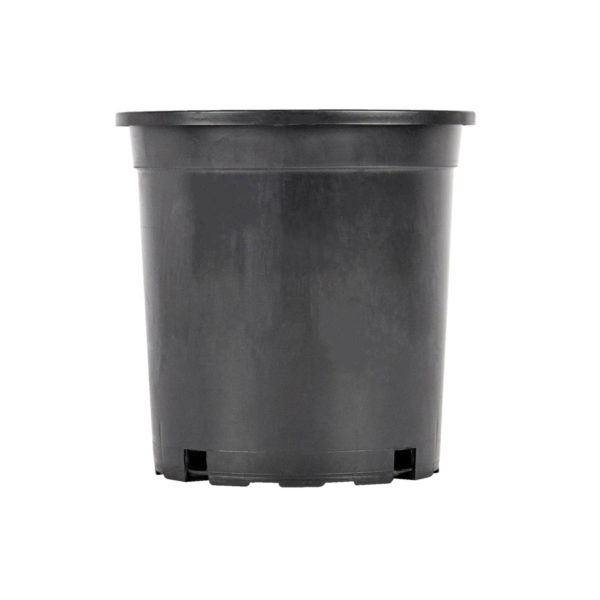Flower Pot 2lt Black