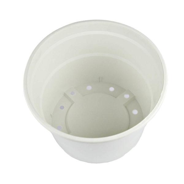 Γλάστρα Πιατέλα Νο 550 (5,5lt) Λευκή